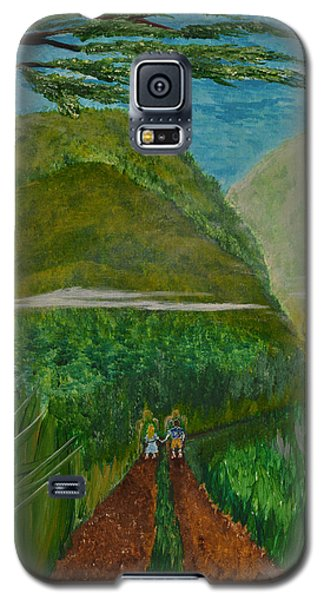 Galaxy S5 Case featuring the painting Called To The Mission Field by Cassie Sears