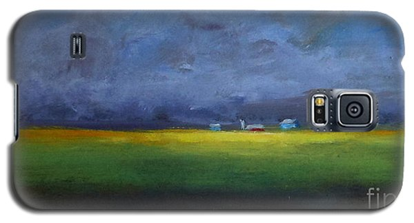 Galaxy S5 Case featuring the painting Calm Before The Storm by Fred Wilson