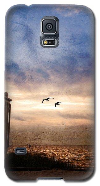 Calm Galaxy S5 Case by Beverly Stapleton