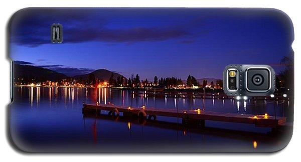 Calm Night - Skaha Lake 02-21-2014 Galaxy S5 Case