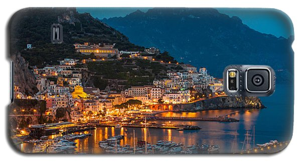 Calm Night Over Amalfi Coast Galaxy S5 Case by Gurgen Bakhshetsyan