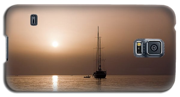 Calm Sea And Quiet Voyage Galaxy S5 Case