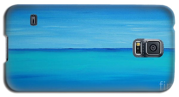 Calming Turquise Sea Part 1 Of 2 Galaxy S5 Case