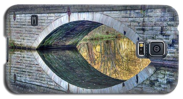 Calver Bridge Reflection Galaxy S5 Case