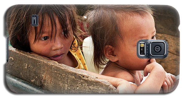 Cambodian Children 03 Galaxy S5 Case