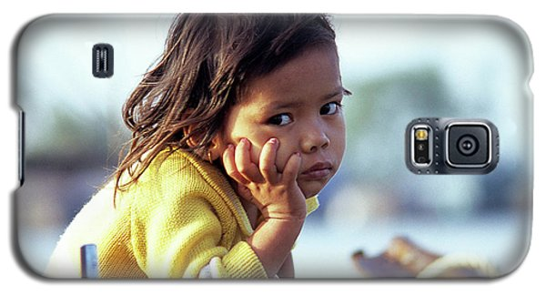 Cambodian Girl 01 Galaxy S5 Case