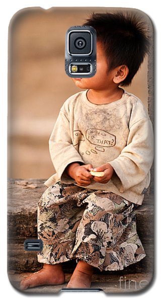 Cambodian Girl 02 Galaxy S5 Case