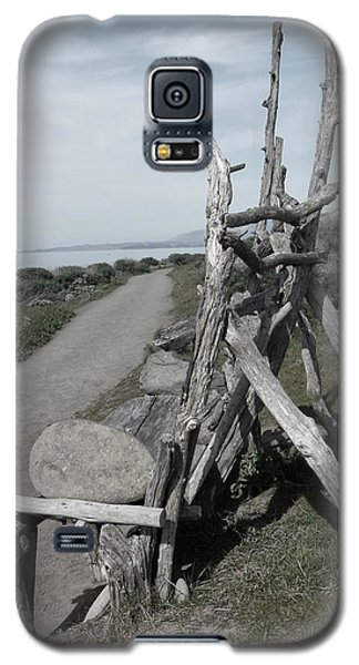 Cambria Driftwood Bench 2 Galaxy S5 Case