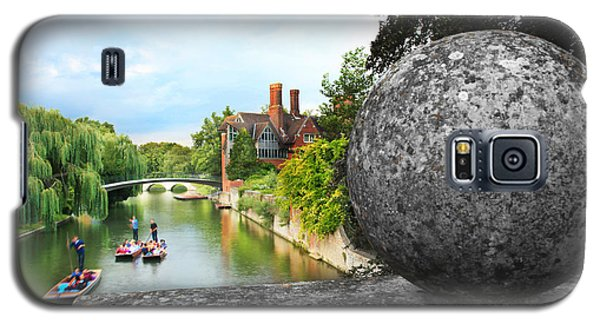 Punting In Cambridge Galaxy S5 Case