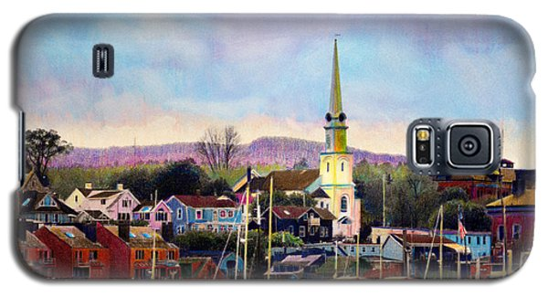 Camden Maine Harbor Galaxy S5 Case