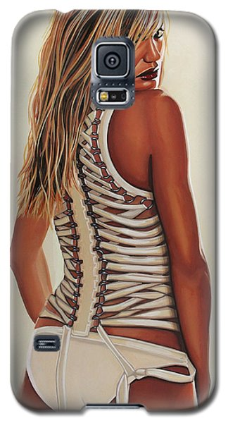 The Sky Galaxy S5 Case - Cameron Diaz Painting by Paul Meijering