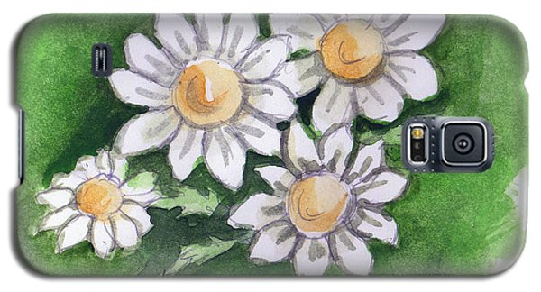 Camomile Flowers Galaxy S5 Case