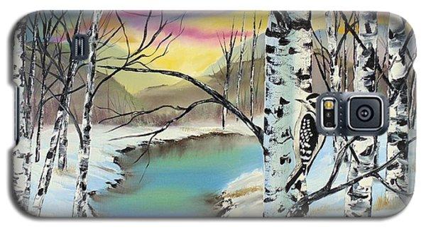 Camouflage Woodpecker Galaxy S5 Case