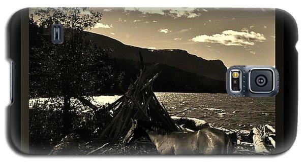 Camp Site Galaxy S5 Case