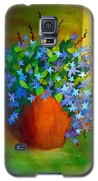 Campanula In Terra Cotta Galaxy S5 Case
