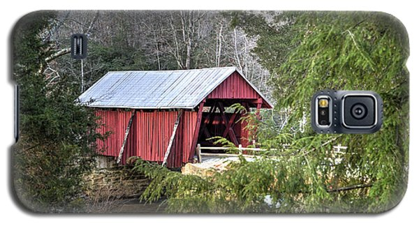 Campbell's Covered Bridge-1 Galaxy S5 Case