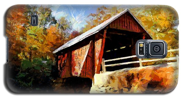 Campbell's Covered Bridge Galaxy S5 Case by Lynne Jenkins