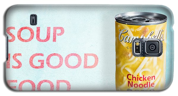 Campbell's Soup Is Good Food Galaxy S5 Case