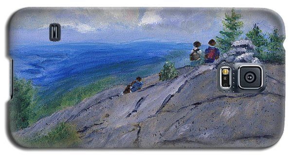 Campers On Mount Percival Galaxy S5 Case