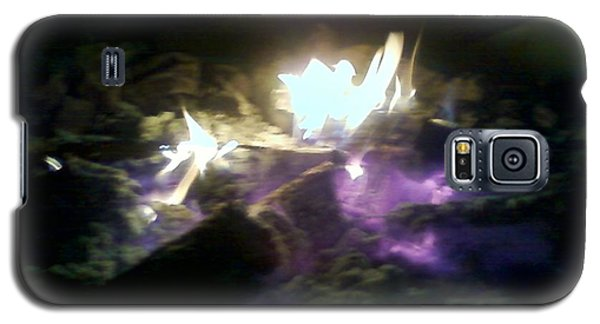Campfire By Angelia Clay Galaxy S5 Case by Angelia Hodges Clay