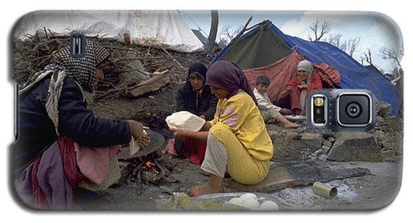 Camping In Iraq Galaxy S5 Case