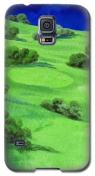 Campo Da Golf Di Notte Galaxy S5 Case