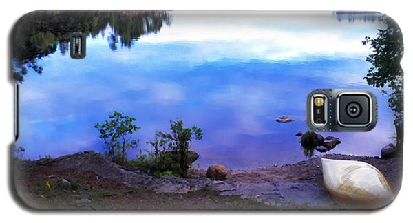 Campsite Serenity Galaxy S5 Case by Thomas R Fletcher