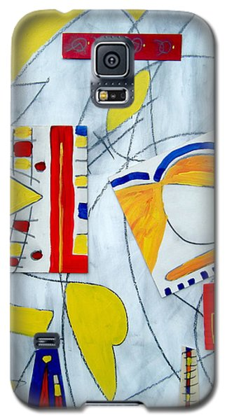 Galaxy S5 Case featuring the mixed media Camulot 3 by Clarity Artists