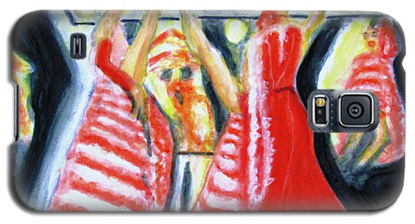 Can-can Dance Of Moulin Rouge Galaxy S5 Case