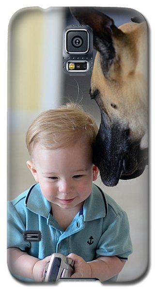 Can You Hear Me Now Galaxy S5 Case by Lisa Phillips