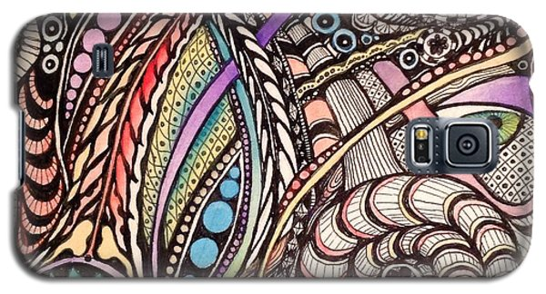 Galaxy S5 Case featuring the drawing Can You See What I See by Iya Carson