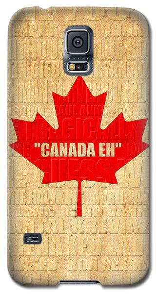 Canada Music 1 Galaxy S5 Case