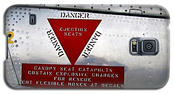 Canadair Ct-114 Tutor Danger  Ejection Seats Galaxy S5 Case