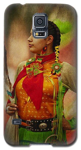 Canadian Aboriginal Woman Galaxy S5 Case