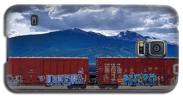 Canadian Freight Train In Jasper Galaxy S5 Case