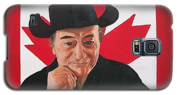 Canadian Icon Stompin' Tom Conners  Galaxy S5 Case by Sharon Duguay