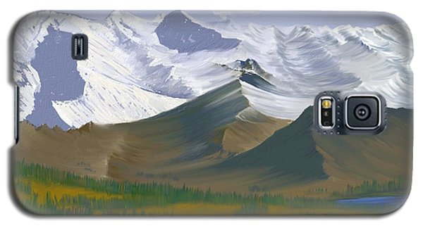 Canadian Rockies Galaxy S5 Case by Terry Frederick