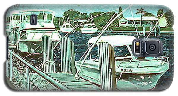 Canal At Pompano Galaxy S5 Case