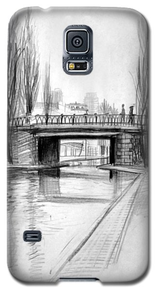 Canal Bridge In Paris Galaxy S5 Case