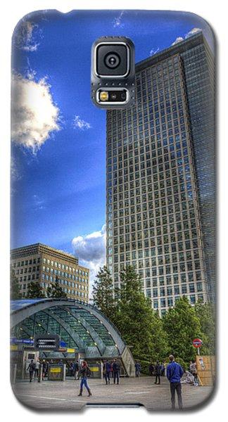 Canary Wharf Station London Galaxy S5 Case