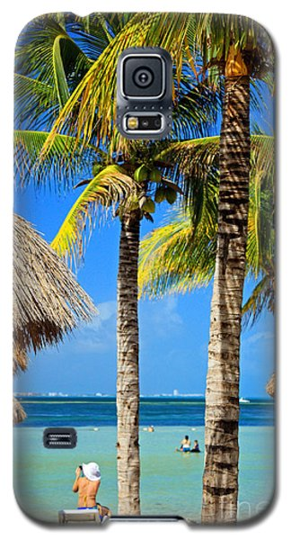 Cancun Beach Galaxy S5 Case by Charline Xia