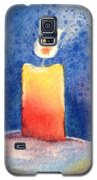 Candle Glow Galaxy S5 Case by Marilyn Jacobson