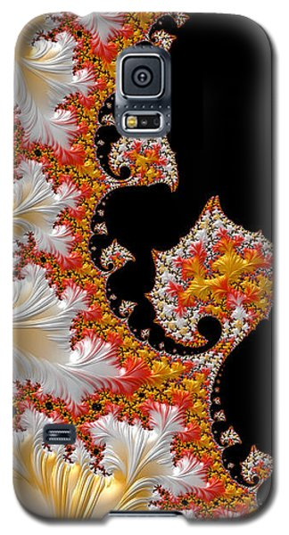 Galaxy S5 Case featuring the digital art Candy Corn by Susan Maxwell Schmidt