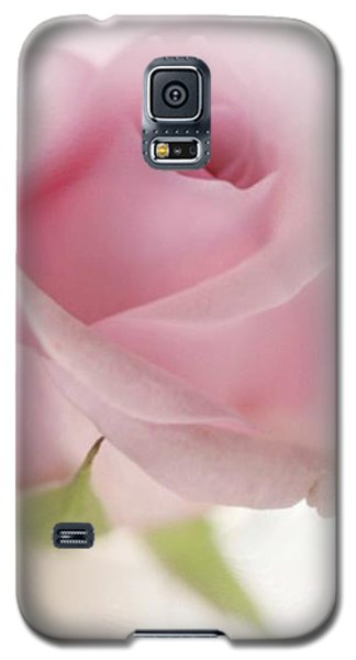Galaxy S5 Case featuring the mixed media Candy Floss by Morag Bates