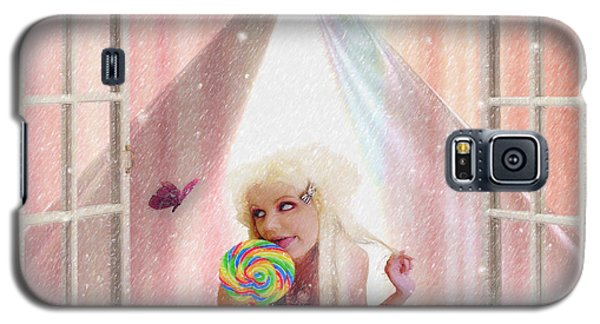Galaxy S5 Case featuring the digital art Candy Kisses by Liane Wright