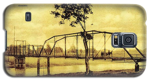 Cane River Lake And Bridge C1921 Galaxy S5 Case
