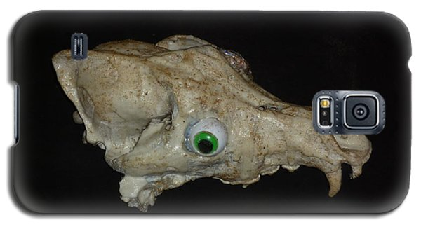 Galaxy S5 Case featuring the sculpture Canine Funkasaurus by Douglas Fromm
