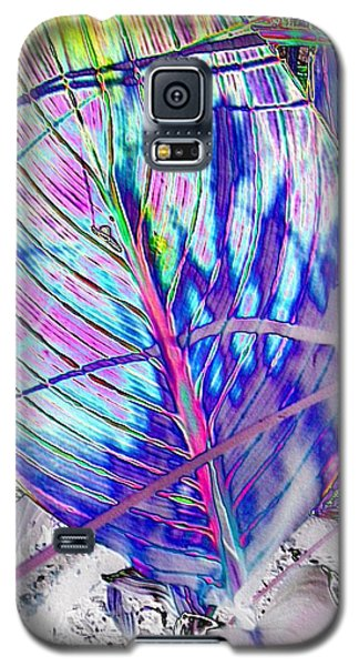 Canna Leaf Galaxy S5 Case