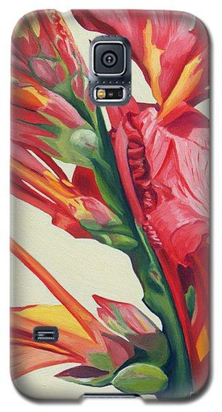 Canna Lily Galaxy S5 Case