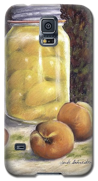 Canned Peaches Galaxy S5 Case by Claude Schneider